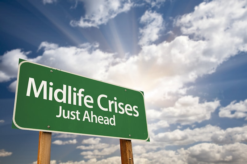 What happens during a midlife crisis