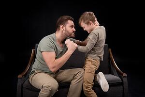 man-parenting-while-angry