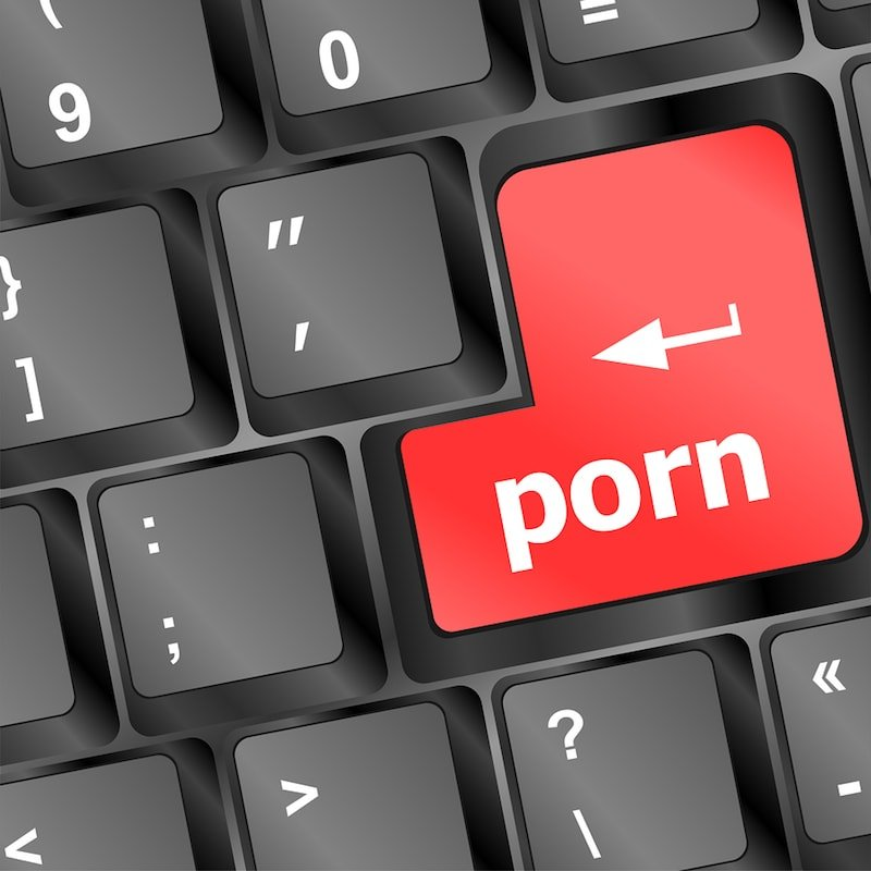 Husband Watching Porn and Masturbating (you can't talk about that!)